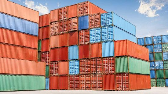 image - containers stacked yard