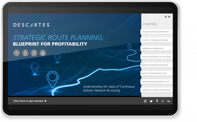 eBook: Strategic Route Planning: Blueprint for Profitability
