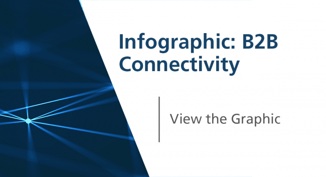infographic B2B connectivity