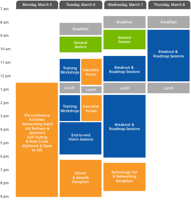 Descartes Evolution 2018 Agenda-at-a-Glance