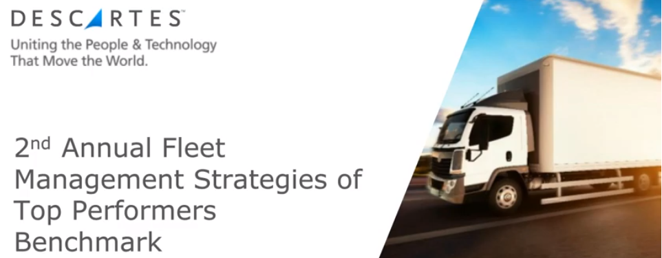 Fleet Strategies and Tactics of Top Performers: 2nd Annual Benchmark Survey