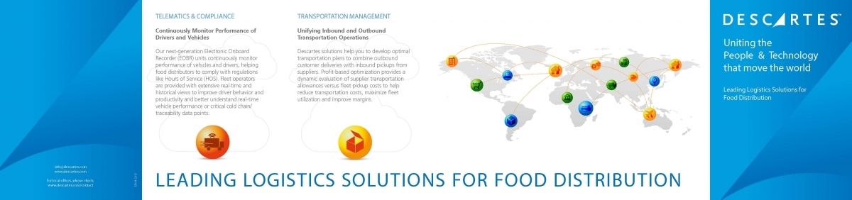 Logistics & Supply Chain Software Food & Beverage Industry | Descartes