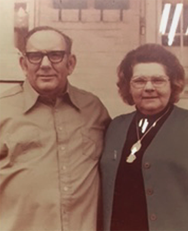 McCombs Owners - Ken Sr. and Doris McCombs