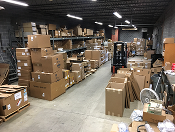 McCombs Owners - Shipping Receiving Warehouse