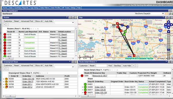 Driving Route Planner Driving Distance Optimizer >> Route Optimization Route Optimization Software Descartes