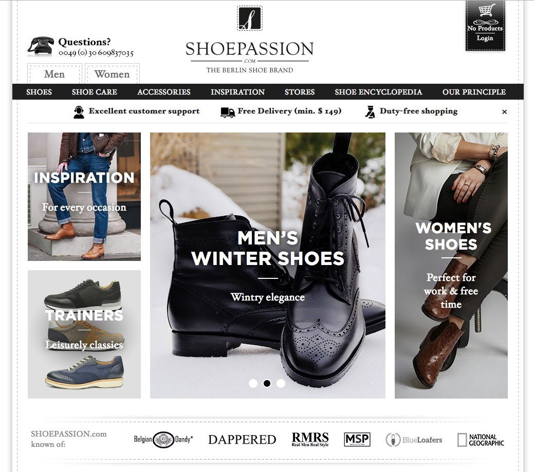 shoepassion case study