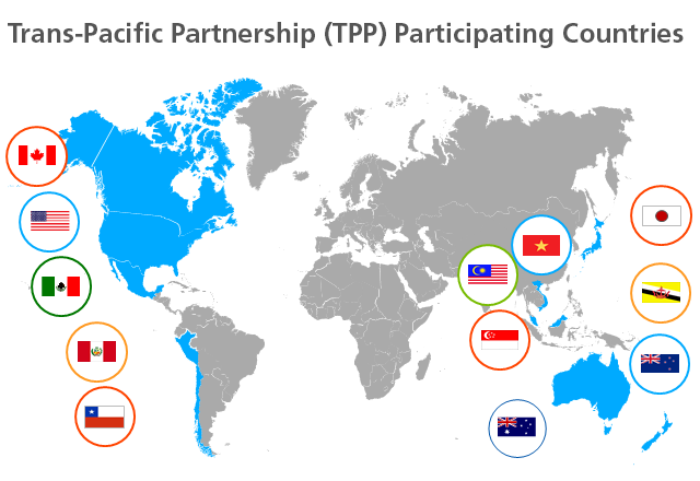 Trans-Pacific Partnership (TPP) Participating Countries