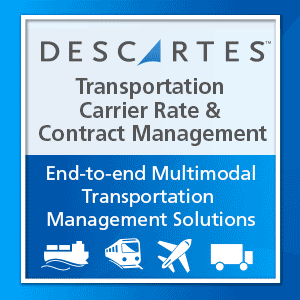 Transportation Rate and Contract Management